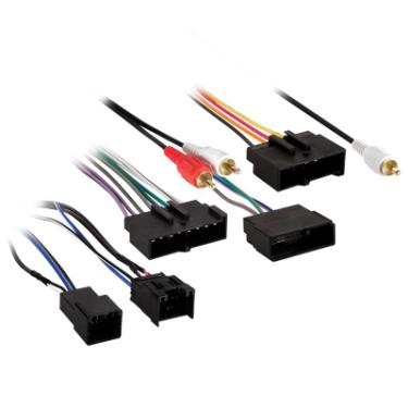 metra electronics 70 1776 wiring harness for select 2003 2007 ford lincoln mercury vehicles at