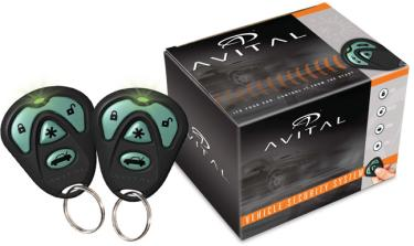 avital 4103lx 1 way 4 button remote start and keyless. Black Bedroom Furniture Sets. Home Design Ideas