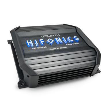 Hifonics GA-1000.1D 1000W 1-CH Monoblock 1-Ohm Super D-Class Car Audio Amplifier