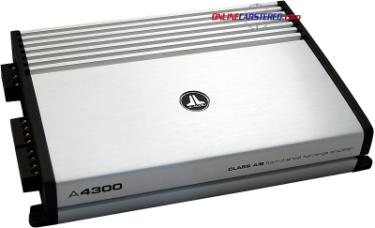 4 Channel Amplifiers A4300 Jl Audio A