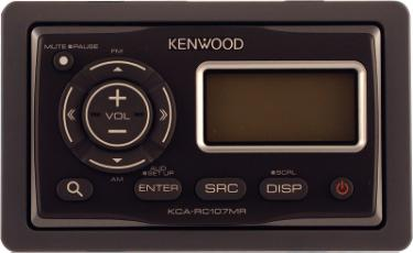 Kenwood Kca Rc107mr Wired Marine Remote Control At