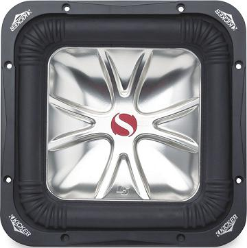Kicker 05s12l5 4 12 1200w dual 4 ohm square subwoofer at kicker 05s12l5 4 sciox Image collections