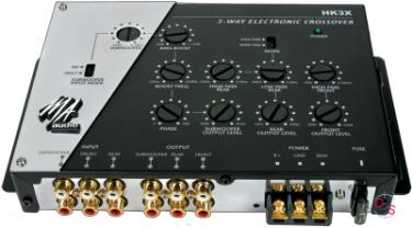 MA Audio HK3X 3 Way Electronic Crossover Network at Onlinecarstereo.com