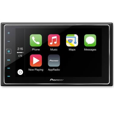 pioneer sph da120 smartphone receiver with 6 2 capacitive touchscreen display apple carplay. Black Bedroom Furniture Sets. Home Design Ideas
