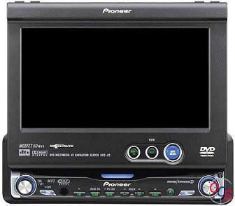 Pioneer AVIC-N2 In-Dash DVD Multimedia AV Navigation ...