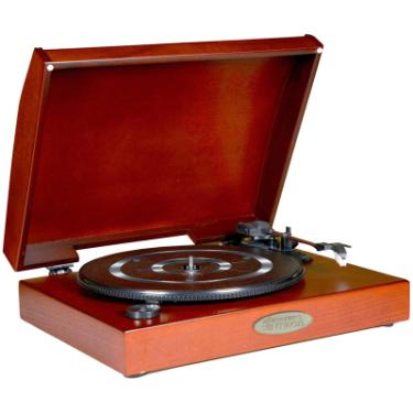 Pyle Pvntt1r Classic Retro Usb Phonograph Turntable With