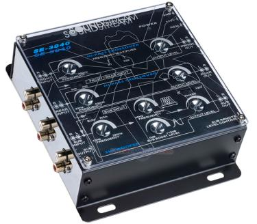 soundstream se 3840 3 way active crossover with subwoofer Home Subwoofer Wiring Diagrams 4 Ohm Subwoofer Wiring Diagram