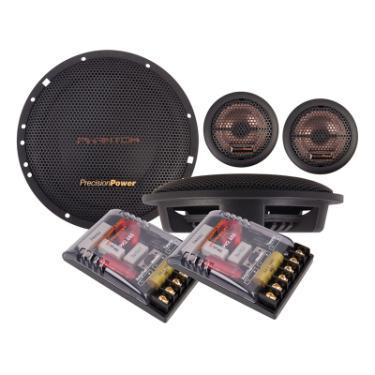 "Precision Power PH2.65S 6.5"" Precision Power PH2.65S 2-Way 80W Phantom Series Component Speakers ..."