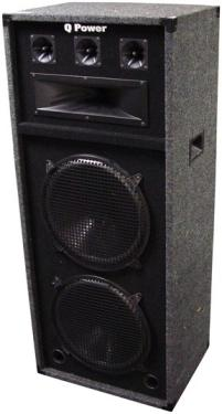 Qpower Qdj212 Dj Speaker Box Dual 12 Quot 6 Way At