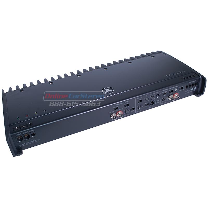 JL Audio 12001vAmplifier Unboxed -