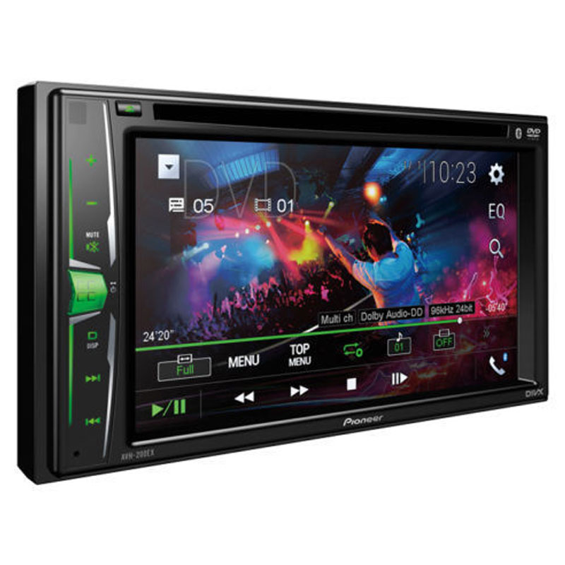 Din In Dash Dvd Cd Am Fm Car Stereo