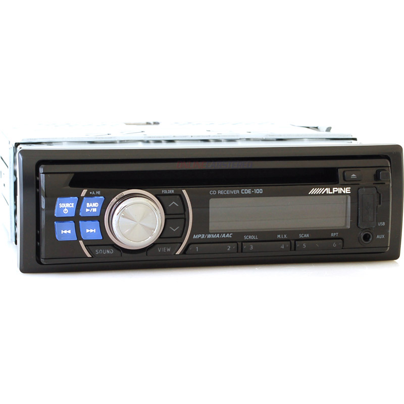 Alpine car stereo control strip