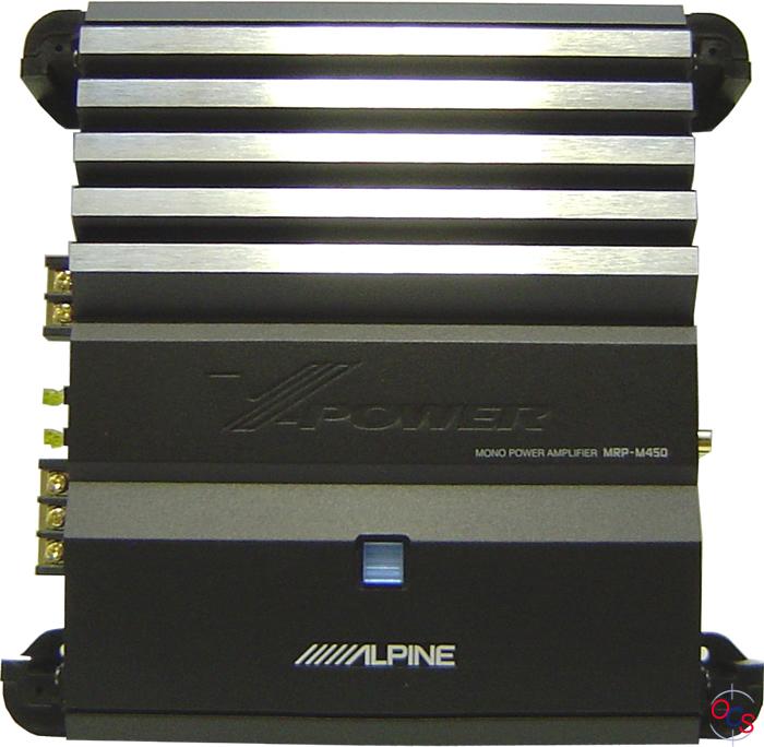 Alpine amp mrp m450