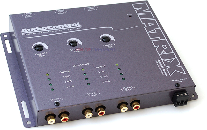 Buy AudioControl Car Audio - AudioControl - Matrix - 6-Channel Car Audio Line Driver (Grey)