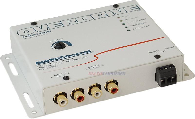AUDIO CONTROL (OVERDRIVE ) line driver. -