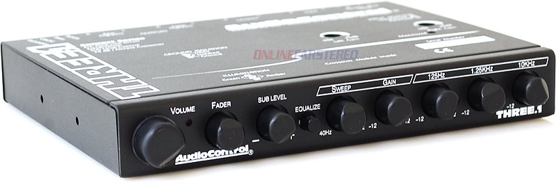 Audio Control Three 1 : audiocontrol three 1 in dash car audio 3 band equalizer with 2 way crossover and line driver at ~ Russianpoet.info Haus und Dekorationen