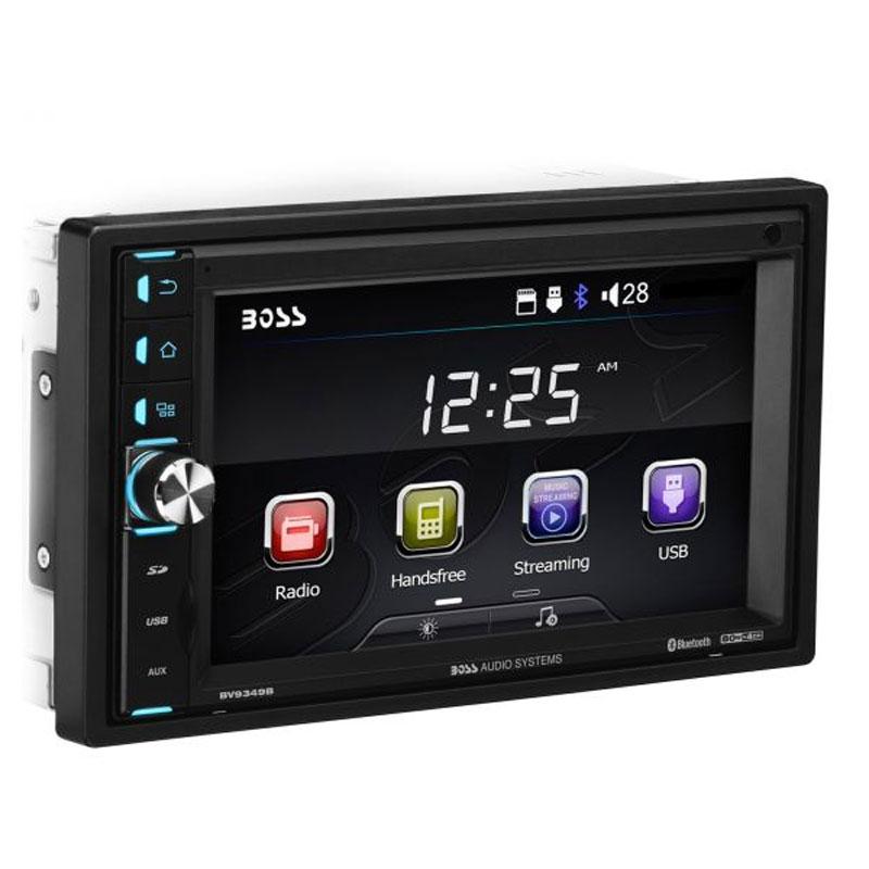"Boss Audio 612ua Multimedia Car Stereo: Boss Audio BV9349B 6.2"" Touchscreen Bluetooth Double-DIN"