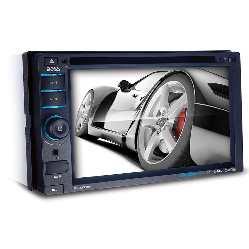 "Boss Bv9538b Double Din Bluetooth Dvd Car Stereo Receiver: Boss Audio BV9372BI Double-DIN In-Dash 6.2"" Touchscreen"