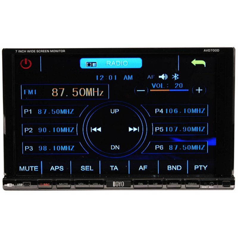 Buy BOYO Car Multimedia - BOYO - AVD700D - 7\&quot; Double DIN Multimedia Digital Panel Touch Panel