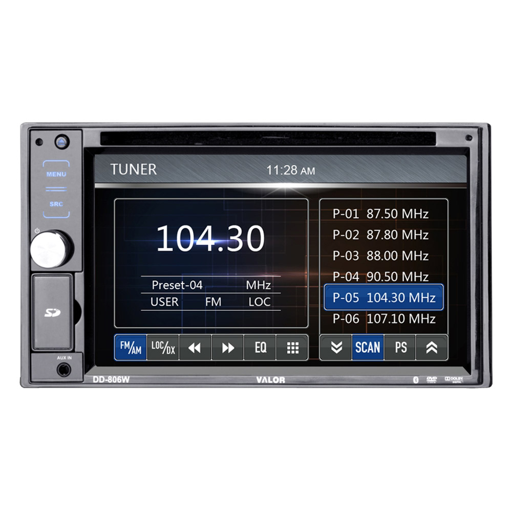 Dvd Receiver In-dash Dvd Receiver With