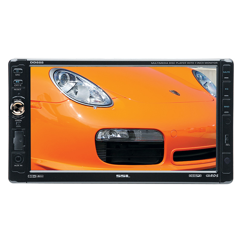 Buy SoundStorm Car Multimedia - SoundStorm - DD888 - Double-DIN In-Dash Multimedia Receiver wit