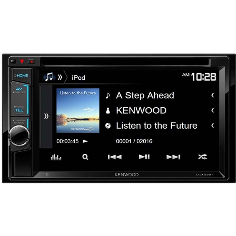Kenwood Ddx23bt 6 2 Quot D Din With Bluetooth Cd Dvd At