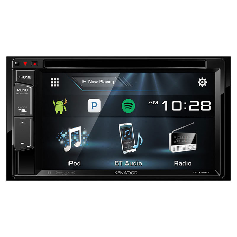 Kenwood Ddx24bt Double Din Bluetooth In Dash Dvd Cd Am Fm