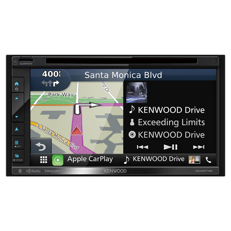 Kenwood DNX574S Double DIN Navigation In-Dash DVD/CD/AM/FM