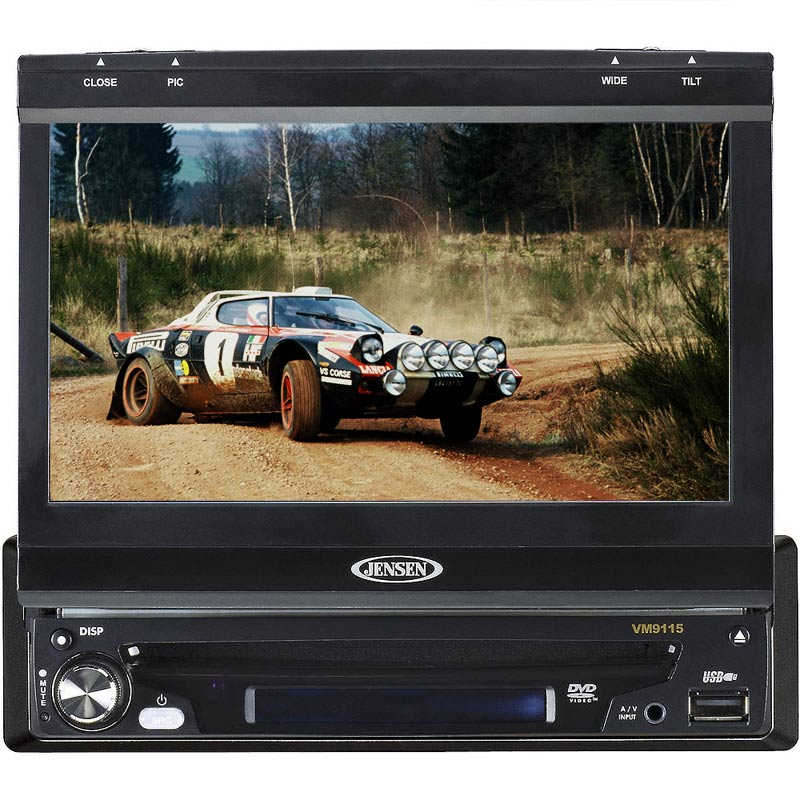 "Buy Jensen In-dash CD Players - Jensen - VM9115 - In-Dash CD/DVD/MP3 Receiver with 7"" Touchscreen"