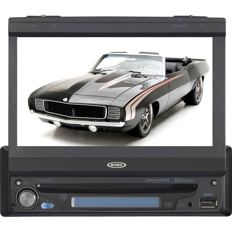 "Buy Jensen In-dash CD Players - Jensen - VM9215BT - In-Dash CD/DVD/MP3 Bluetooth Receiver with 7"" T"