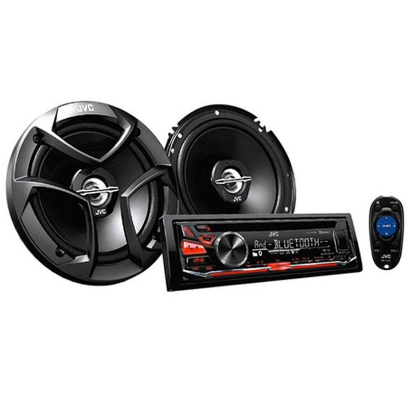 JVC KD-PKR770BT KD-R770BT Bluetooth In-Dash Car Stereo