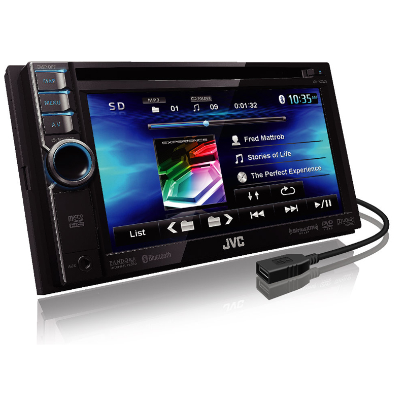 Jvc car stereo with front aux and usb 6