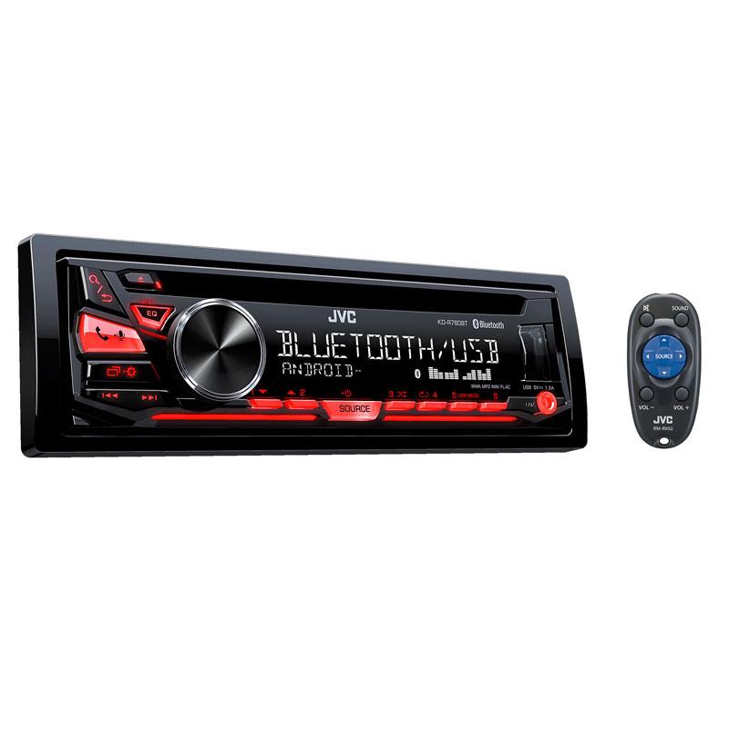 JVC KD-PKR780BT KD-R780BT Single-DIN In-Dash AM/FM/CD