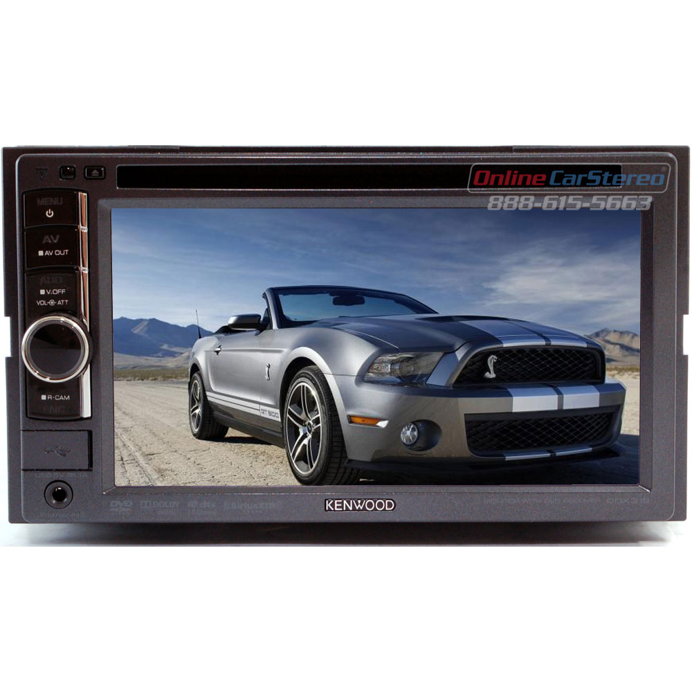 "Kenwood DDX319 2-DIN In-Dash DVD Receiver with 6.1"" WVGA ..."