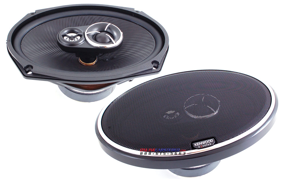 Kenwood X  Way Car Speakers Kfc Cps