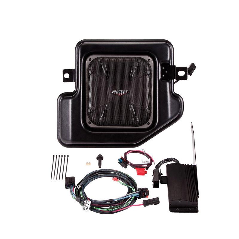 "Kicker PRAMCQ09 10"" Multi-Channel Amplifier & Powered Subwoofer Upgrade Kit for 2009-2012 Dodge ..."