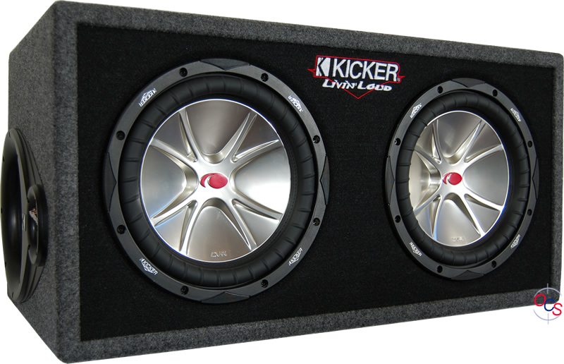 Kicker 05DCVR124 Dual 12