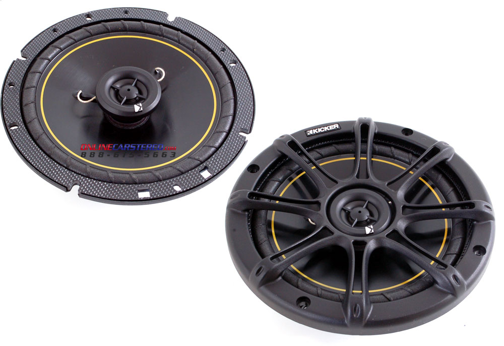 kicker 6 5 car speakers car speakers audio system. Black Bedroom Furniture Sets. Home Design Ideas