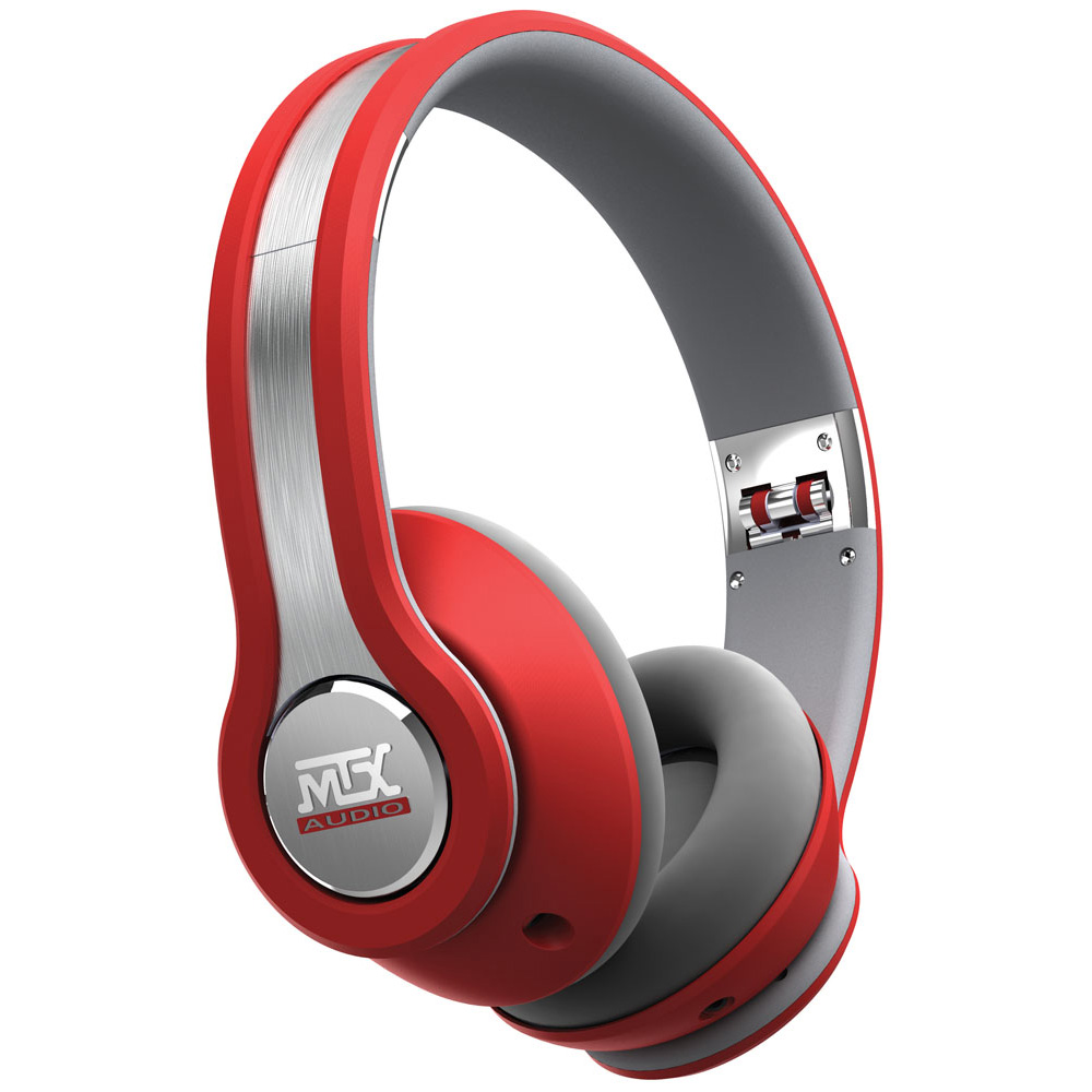 MTX iX1 Red StreetAudio iX1 RED On Ear Headphones