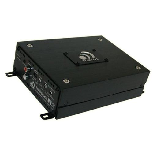 massive audio n2 1600w monoblock nano block series car. Black Bedroom Furniture Sets. Home Design Ideas