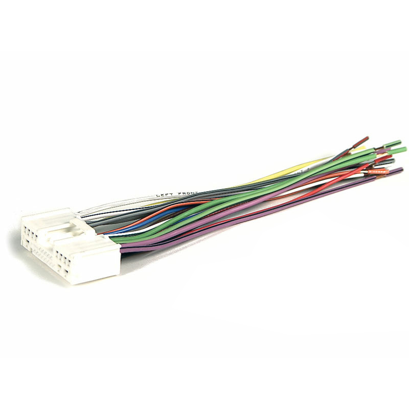 metra electronics 71 7903 wiring harness for 2001 2007 mazda protege oem radio at