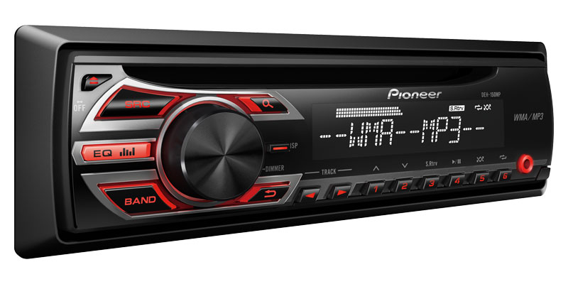 Kenwood Car Stereo Reviews Pioneer DEH-150MP Single-DIN In-Dash CD/MP3 Receiver with Front AUX at ...