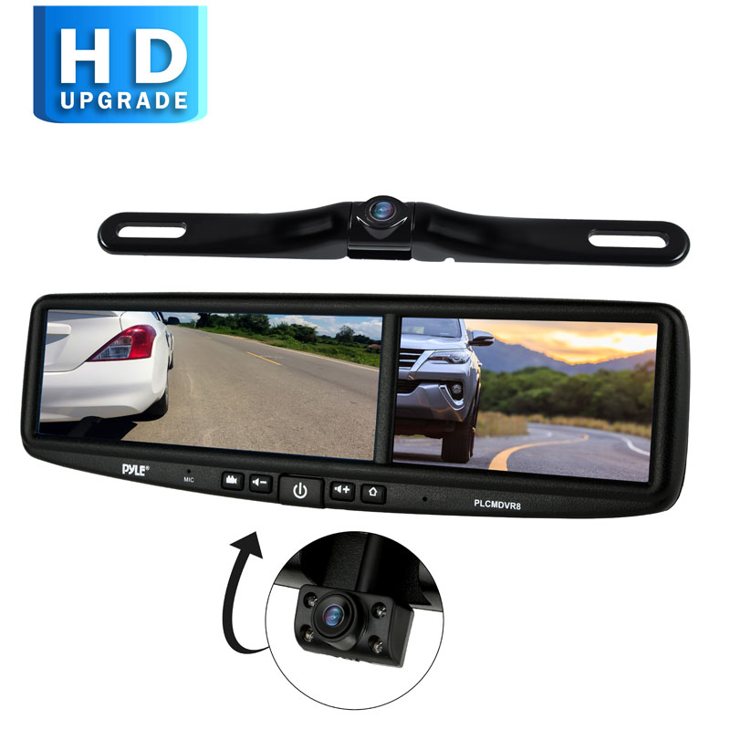 Pyle PLCMDVR8 HD Vehicle Backup Camera System
