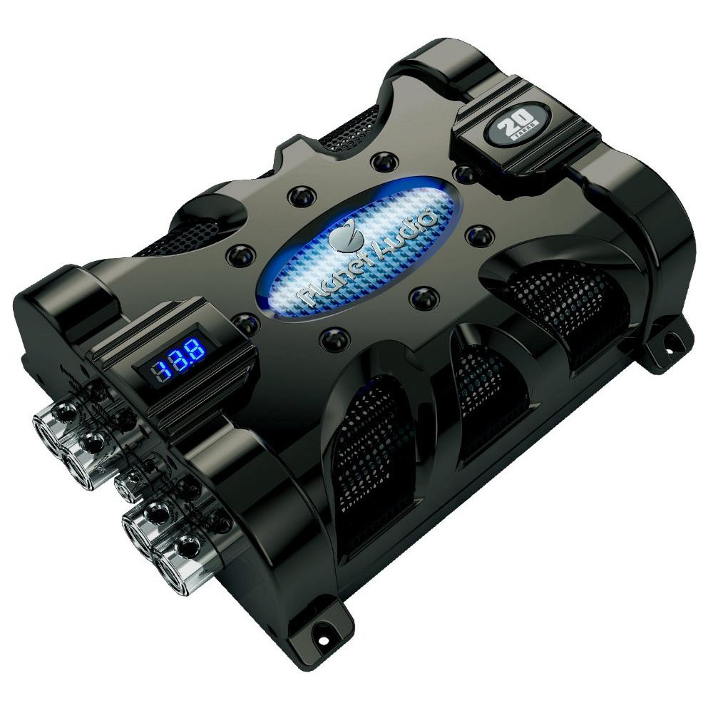 Planet audio capacitor