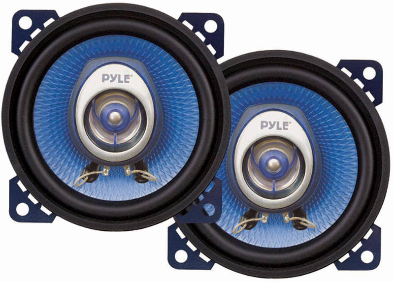 Pyle PL42BL 4'' 180W 2-Way Speakers At Onlinecarstereo.com