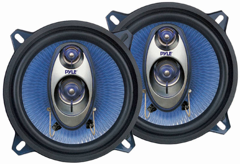 Pyle PL53BL 5-1/4'' 200W 3-Way Speakers At Onlinecarstereo.com
