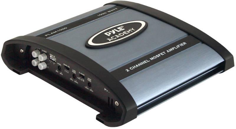 Pyle PLAM1000 1000W 2 Channel Bridgeable Amplifier At