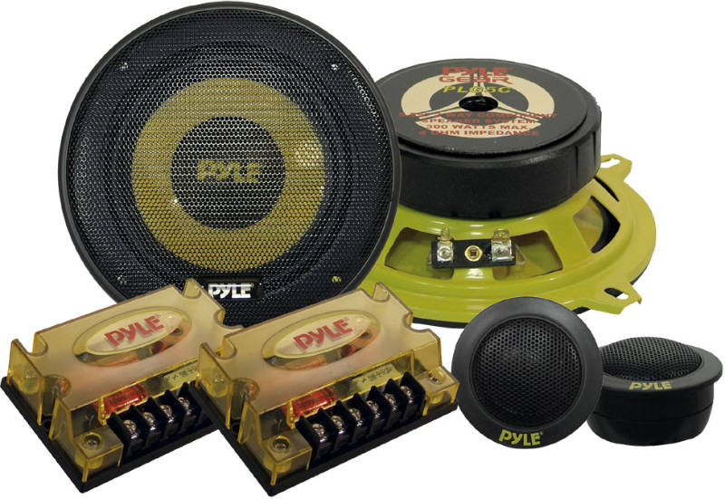 Pyle PLG5C 5-1/4'' 300 Watts 2-Way Custom Component System