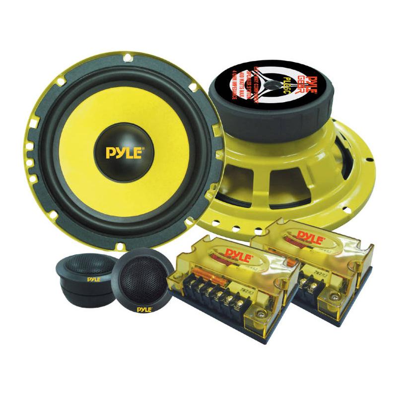 Pyle PLG6C GEAR 6-1/2'' 400 Watts 2-Way Custom Component