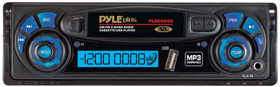 Buy Pyle Digital Media Receivers - Pyle - PLRCS19U - Cassette Player & Digital Media Receiver Combo w